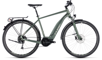 CUBE Touring Hybrid ONE 400 frostgreen´n´silver 2018