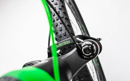 Detail image of Cube Reaction GTC Race 2x carbon´n´green 2017 (11)