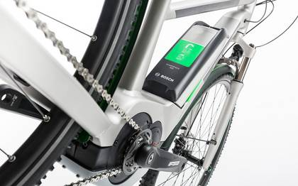 Detail image of Cube Cross Hybrid Race Allroad 500 silver´n´green 2017 (6)