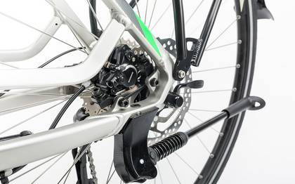 Detail image of Cube Touring Hybrid ONE 400 silver´n´flashgreen 2017 (11)