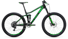 CUBE Stereo 140 C:62 SL 27.5 carbon´n´green 2017
