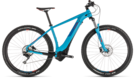 CUBE Reaction Hybrid EXC 500 blue´n´red 2019
