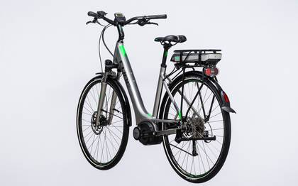 Detail image of Cube Touring Hybrid ONE 400 silver´n´flashgreen 2017 (12)