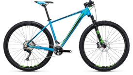 CUBE LTD SL 2x blue´n´green 2017