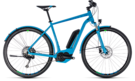 CUBE Cross Hybrid Race Allroad 500 blue´n´green 2018