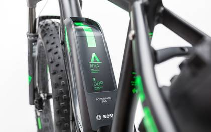 Detail image of Cube Nutrail Hybrid 500 black´n´green 2017 (13)