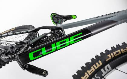 Detail image of Cube TWO15 HPA Race 27.5 black´n´green 2017 (6)