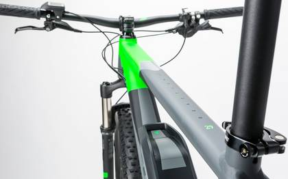 Detail image of Cube Reaction Hybrid HPA Race 500 grey´n´flashgreen 2017 (4)