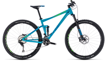 CUBE Stereo 120 Race blue´n´green 2018