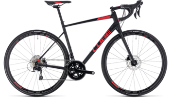 CUBE Attain SL Disc black´n´red 2018