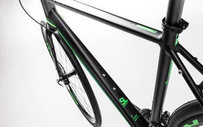 Detail image of Cube SL Road Race black´n´flashgreen 2017 (2)