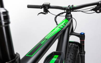 Detail image of Cube Nutrail Hybrid 500 black´n´green 2017 (2)
