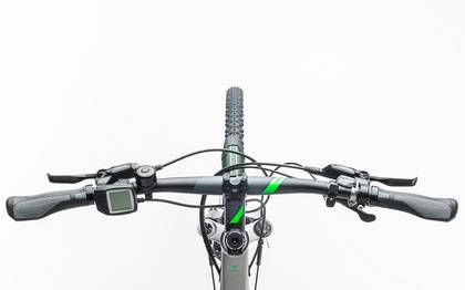 Detail image of Cube Cross Hybrid Race Allroad 500 silver´n´green 2017 (1)