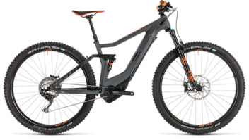 CUBE Stereo Hybrid 120 HPC TM 500 KIOX grey´n´orange 2019