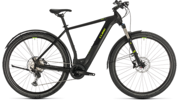 CUBE Cross Hybrid Race 500 Allroad black´n´green 2020