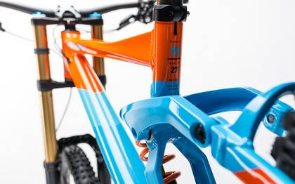 Detail image of Cube TWO15 HPA SL 27.5 blue´n´orange 2017 (4)