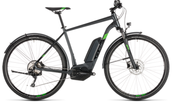 CUBE Cross Hybrid Pro 500 Allroad iridium´n´green 2019