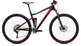 CUBE Stereo 120 HPC SL carbon´n´red 2017