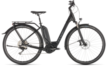 CUBE Touring Hybrid EXC 500 black´n´grey 2019