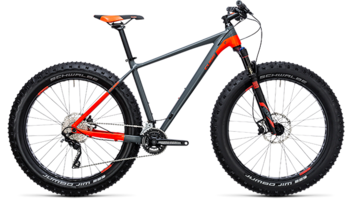 CUBE Nutrail grey´n´flashred 2018