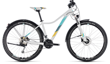 CUBE Access WS Pro Allroad white´n´blue 2018