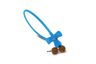 """RFR Cable Lock HPS """"DOG"""" 10 x 450 mm"""