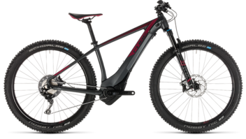 CUBE Access Hybrid SLT 500 iridium´n´berry 2019