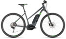 CUBE Cross Hybrid Pro 500 iridium´n´green 2019