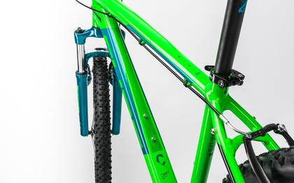 Detail image of Cube Aim 27.5 green´n´blue 2017 (2)