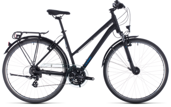 CUBE Touring black´n´blue 2020