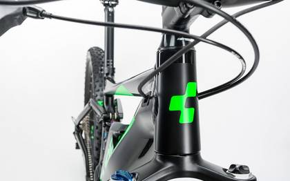 Detail image of Cube Stereo Hybrid 120 HPA Race 500 27.5+ black´n´green 2017 (7)