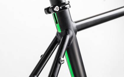 Detail image of Cube SL Road Race black´n´flashgreen 2017 (8)