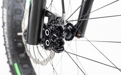 Detail image of Cube Nutrail Hybrid 500 black´n´green 2017 (11)