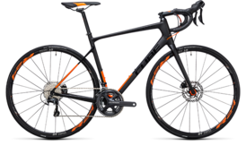 CUBE Attain GTC SL Disc carbon´n´flashorange 2017