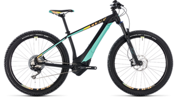 CUBE Access Hybrid SL 500 black´n´mint 2018
