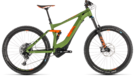 CUBE Stereo Hybrid 140 Race 500 27.5 green´n´orange 2019