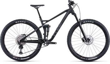 Cube Stereo 120 Race black anodized