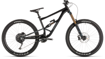CUBE Hanzz 190 TM 27.5 black´n´grey 2019