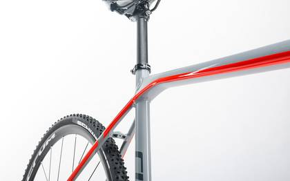 Detail image of Cube Cross Race Pro grey´n´flashred 2017 (10)