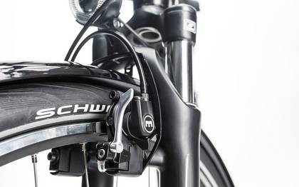 Detail image of Cube Travel Hybrid RT 500 black´n´white 2017 (11)