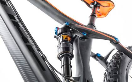 Detail image of Cube Stereo 140 C:62 Race 27.5 carbon´n´flashorange 2017 (8)