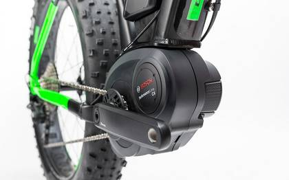 Detail image of Cube Nutrail Hybrid 500 black´n´green 2017 (10)