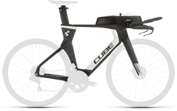 CUBE Aerium C:68 TT Rahmenset LOW carbon´n´white 2020