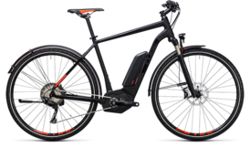 CUBE Cross Hybrid SL Allroad 500 black´n´flashred 2017