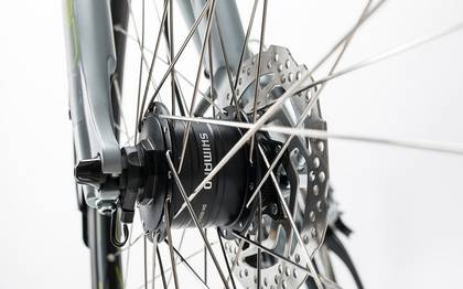Detail image of Cube Touring Exc grey´n´lime 2017 (11)