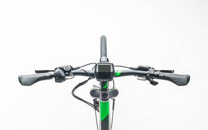 Detail image of Cube Touring Hybrid ONE 400 silver´n´flashgreen 2017 (1)