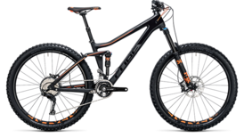CUBE Stereo 140 C:62 Race 27.5 carbon´n´flashorange 2017