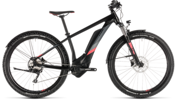 CUBE Access Hybrid Pro 400 Allroad black´n´coral 2019