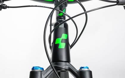 Detail image of Cube Stereo Hybrid 140 HPA Race 500 27.5 black´n´flashgreen 2017 (7)