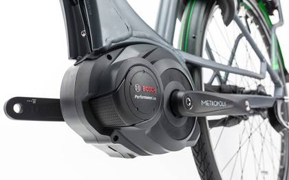 Detail image of Cube Travel Hybrid Pro 500 grey´n´flashgreen 2017 (17)